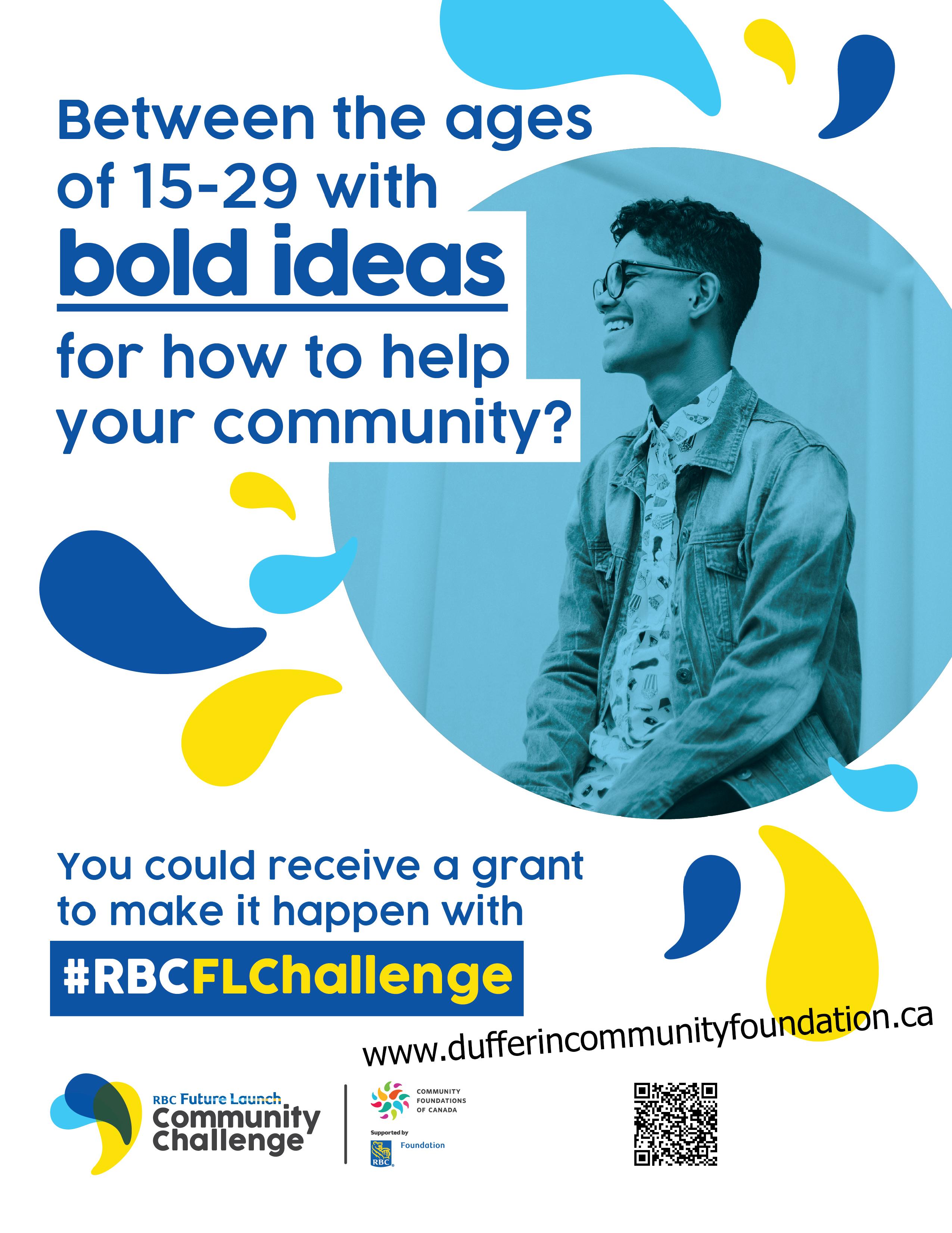 RBC Fugure Launch Community Challenge Poster