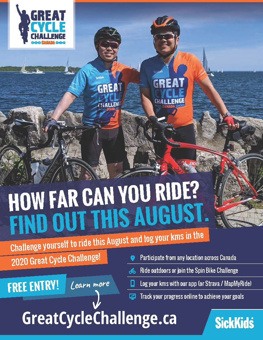 Great Cycle Event Poster