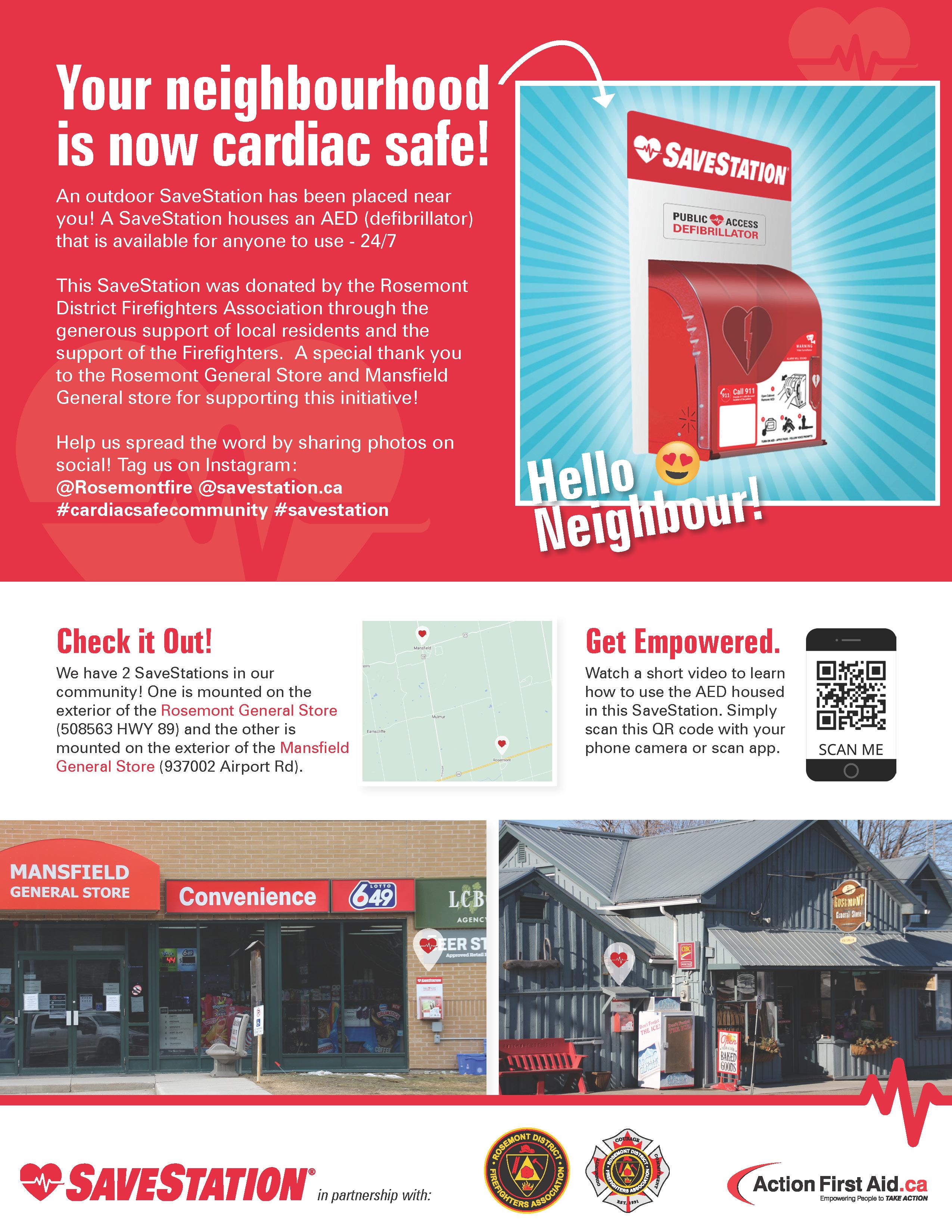 SaveStation Flyer