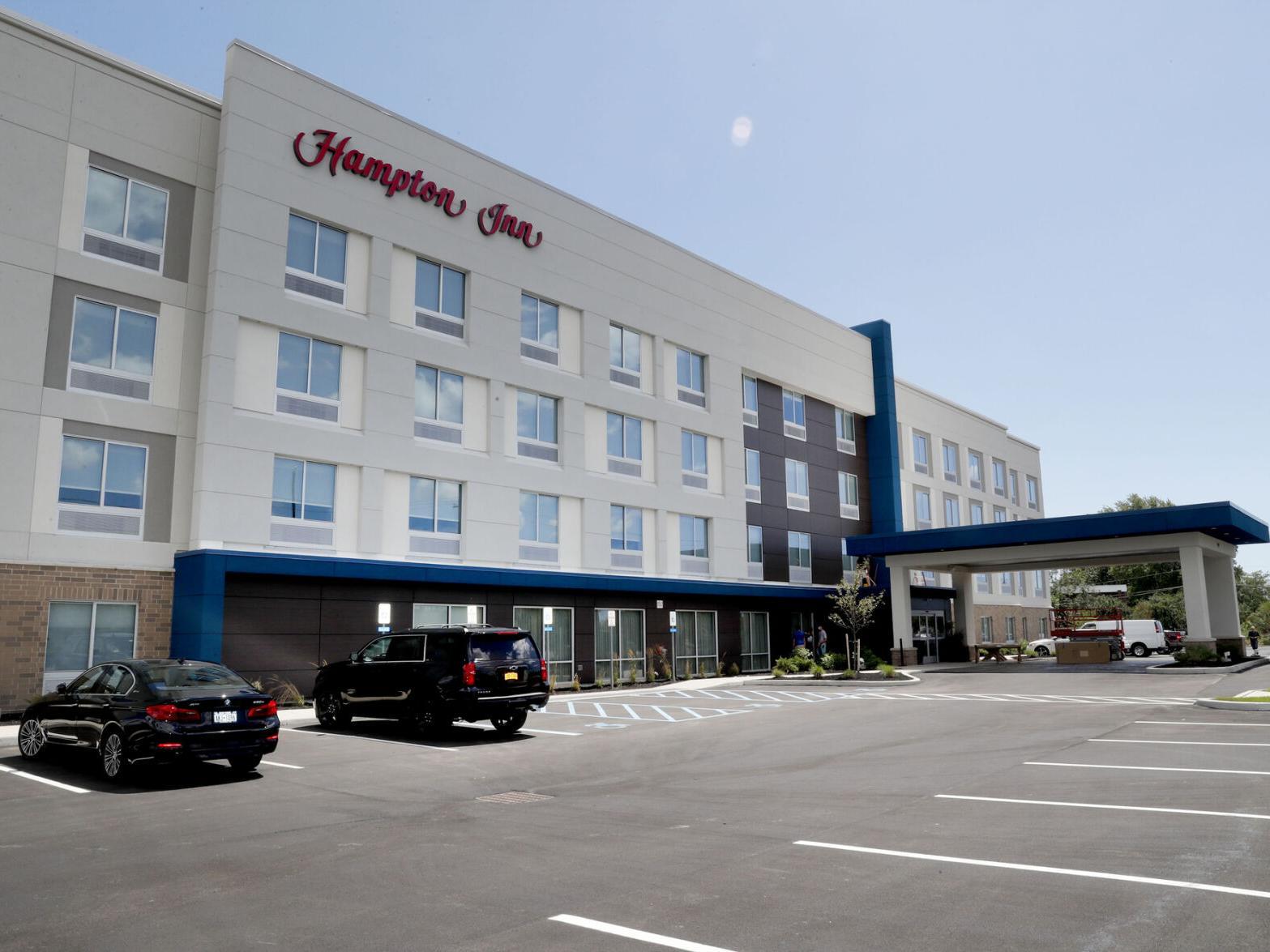 Sample Image of Constructed 4 Storey Hampton Inn: