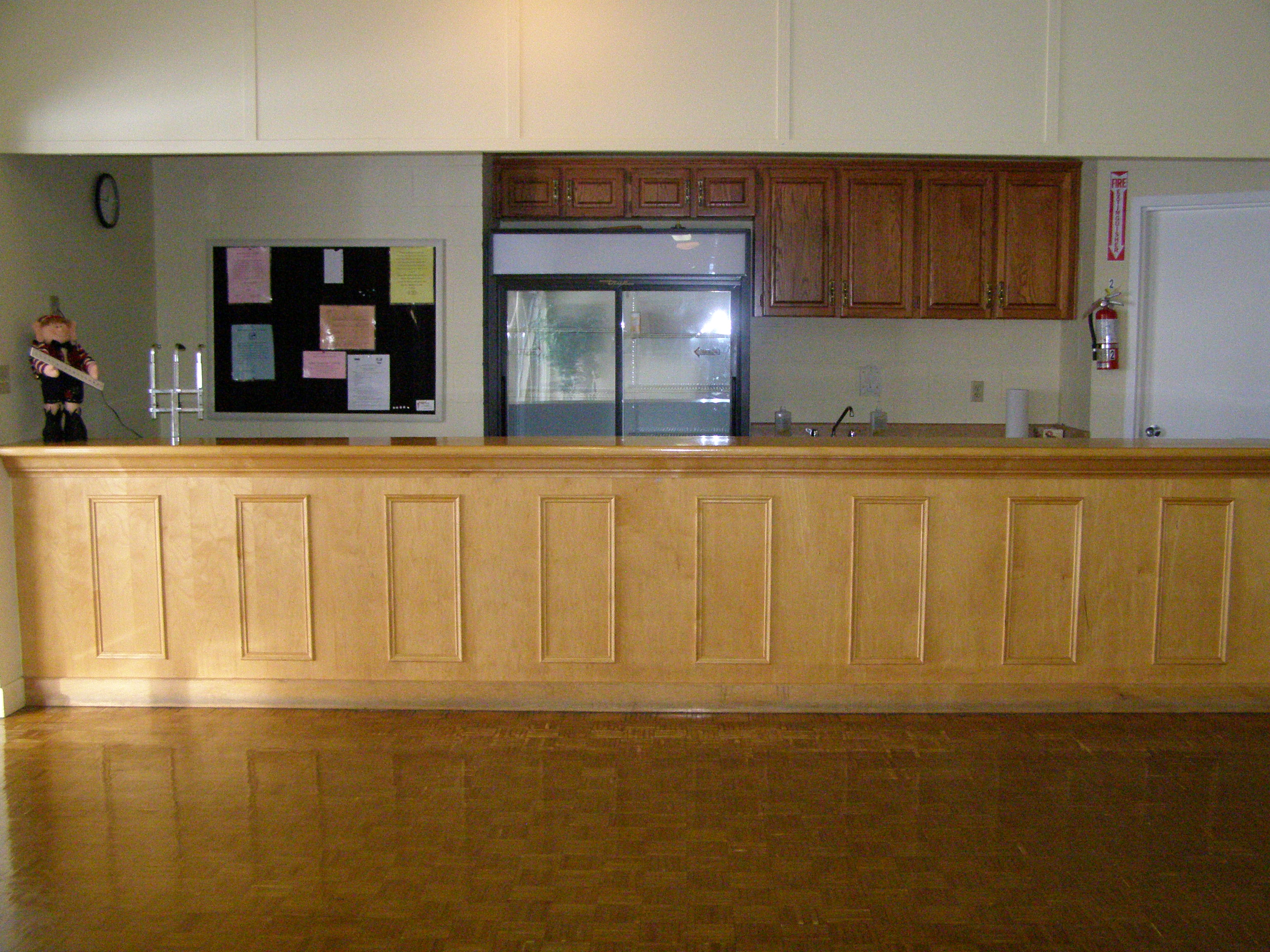 Mono Community Centre Banquet Room Bar