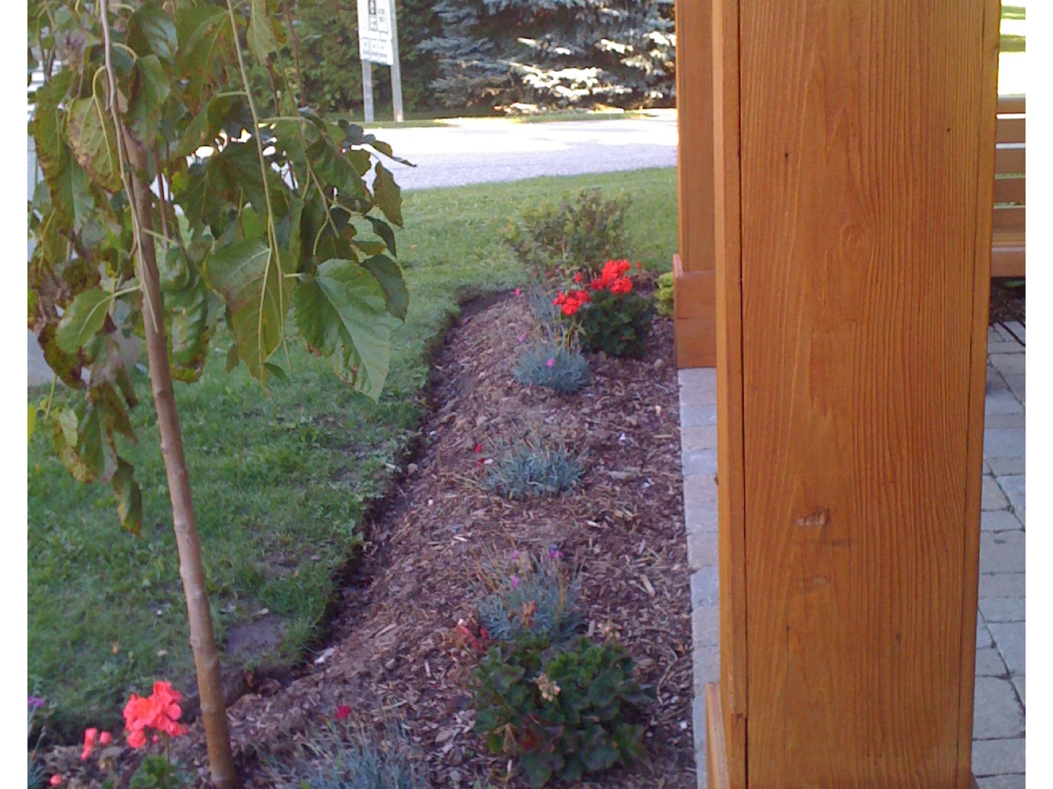 Mono Community Centre Front Garden