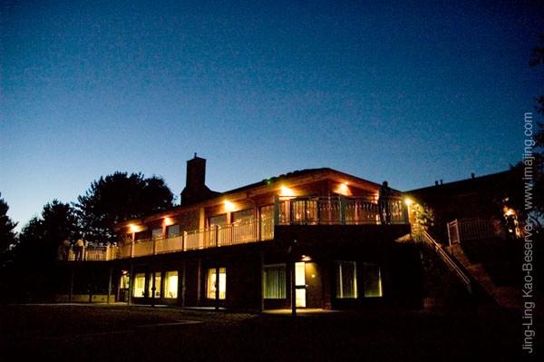 Monora Park Pavilion Evening View