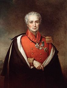 Portrait of Sir Peregrine Maitland, Lieutenant Governor of Upper Canada from 1818 to 1828