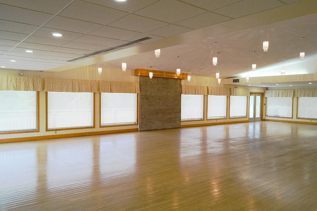 Monora Park Pavilion's Banquet Room