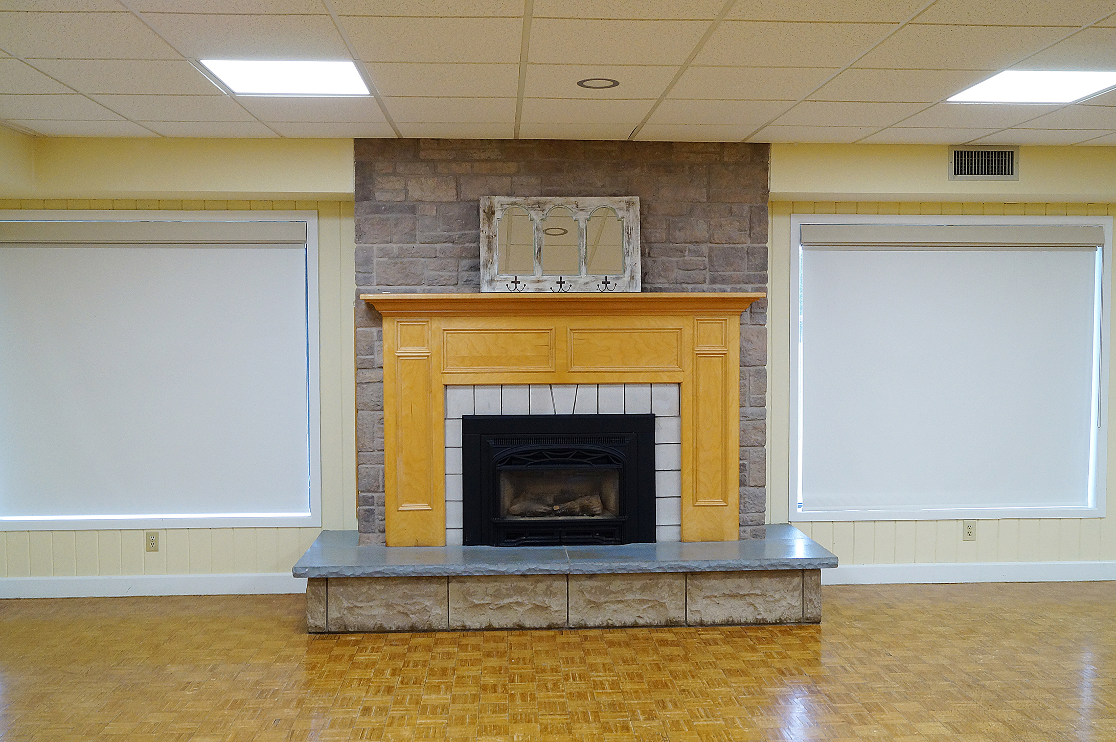 Monora Park Pavilion Multi Purpose Room Fire Place
