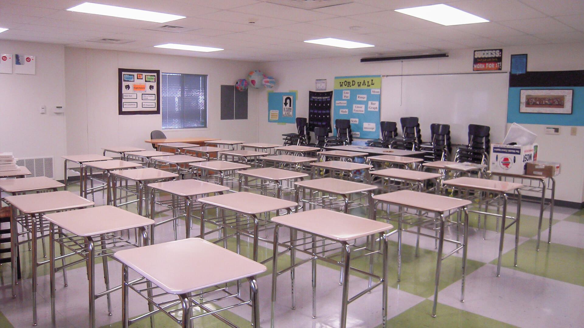 Portable Classroom Exterior