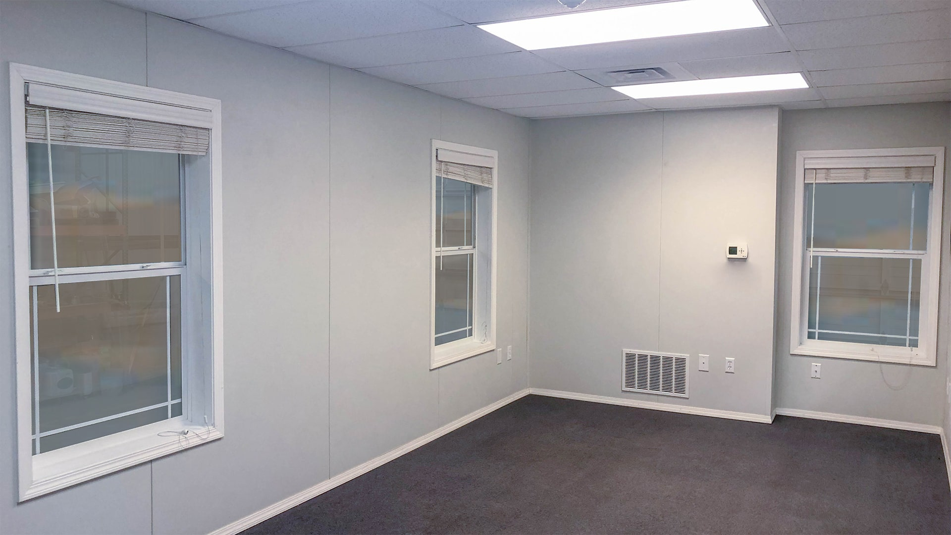 Mobile Office Trailer Interior