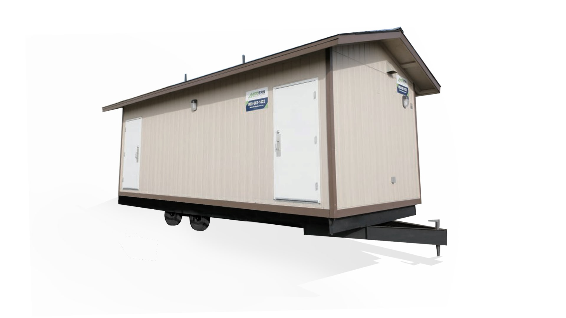 Mobile Office Trailer Exterior