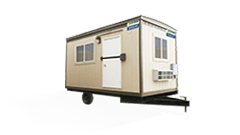 8'x16' Mobile Office Trailer