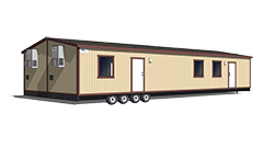 24'x60' Mobile Office Trailer