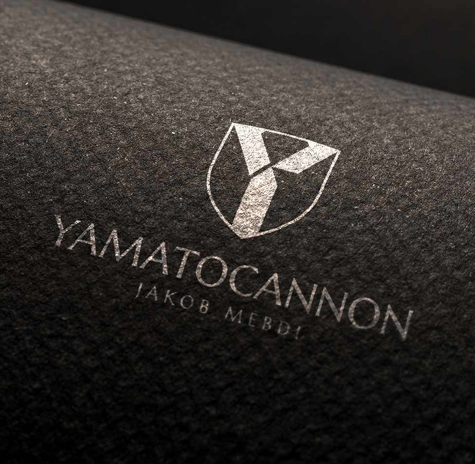 Logo de Yamatocannon sobre tela