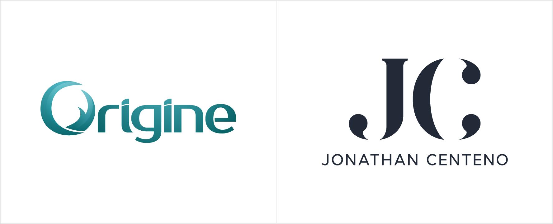 Comparativa del logo antiguo (Origine) con el nuevo