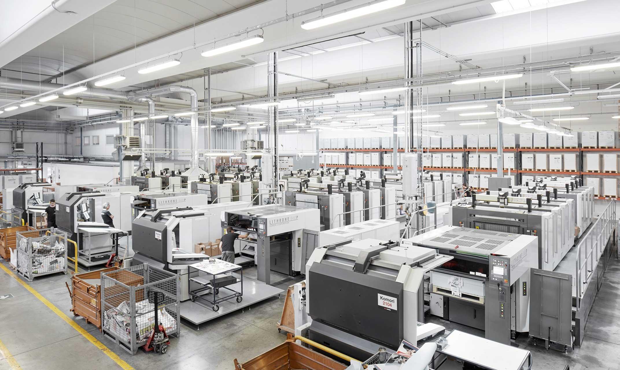 Fábrica de Pixartprinting