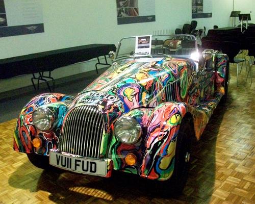Hello English - Morgan Car Image