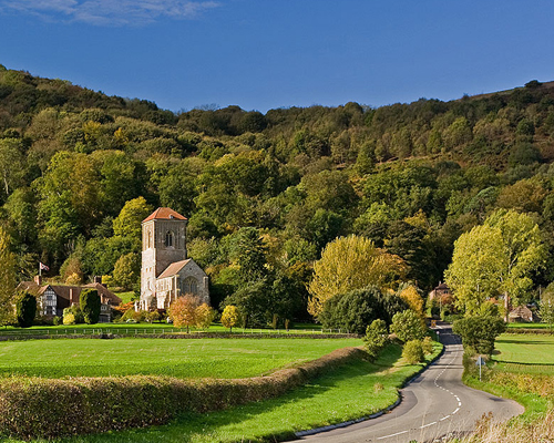 Hello English - Landscape Image