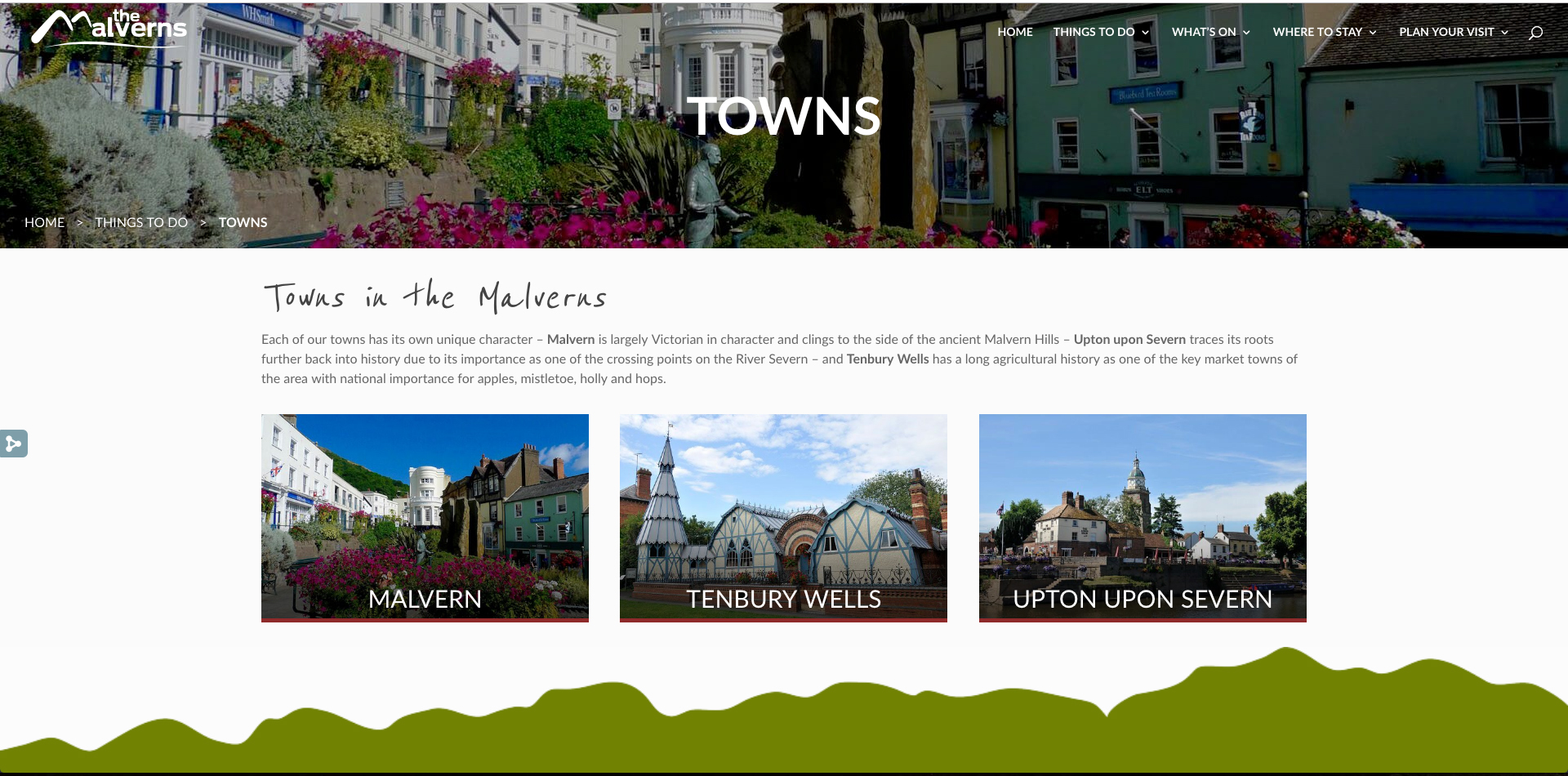 Visit the Malverns Worcestershire