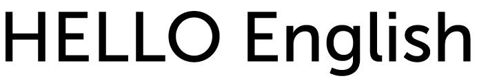 HELLO English logo