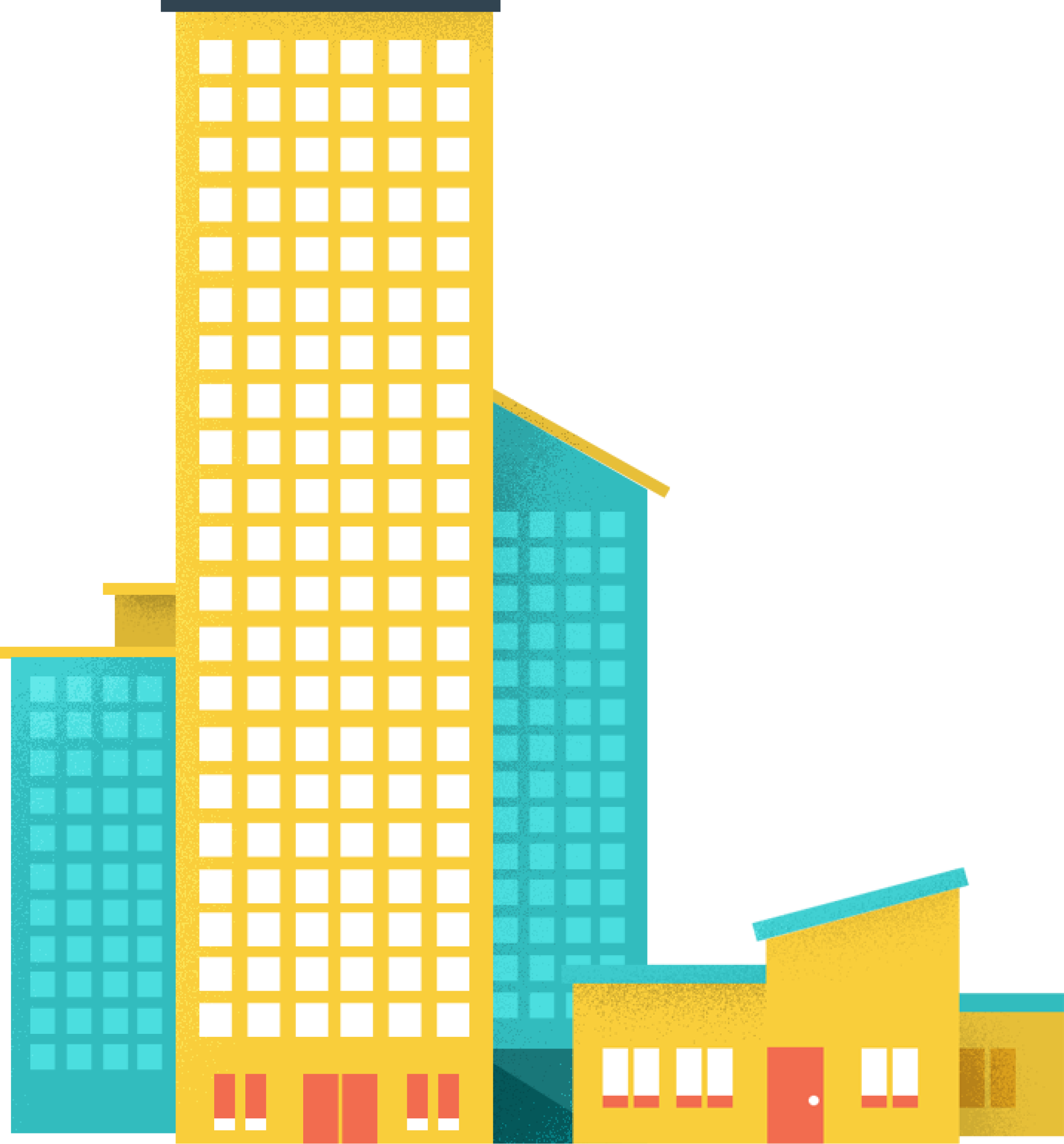 Large and Small Buildings