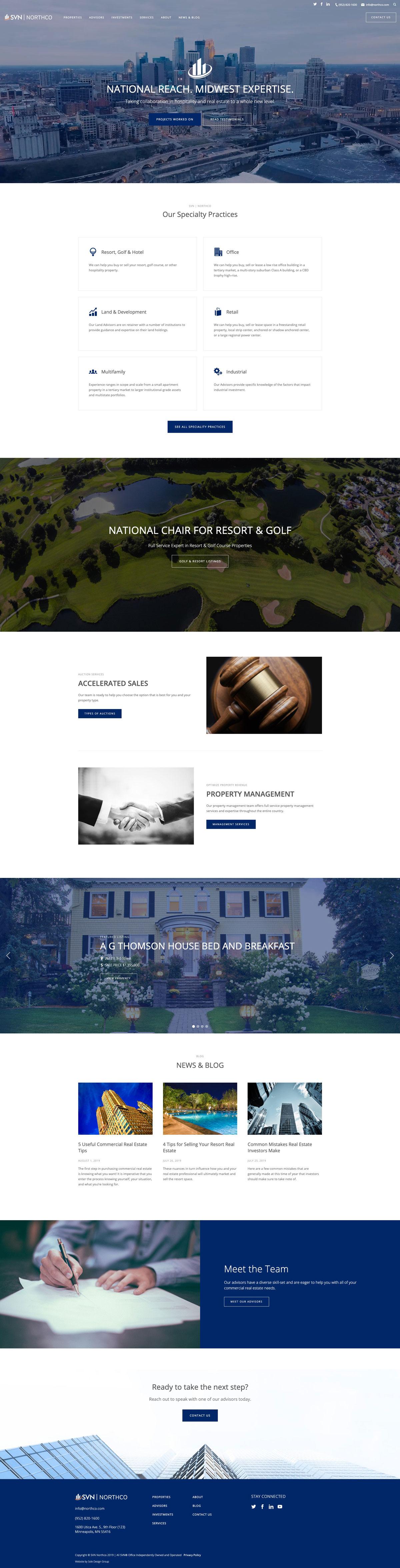 Northco homepage