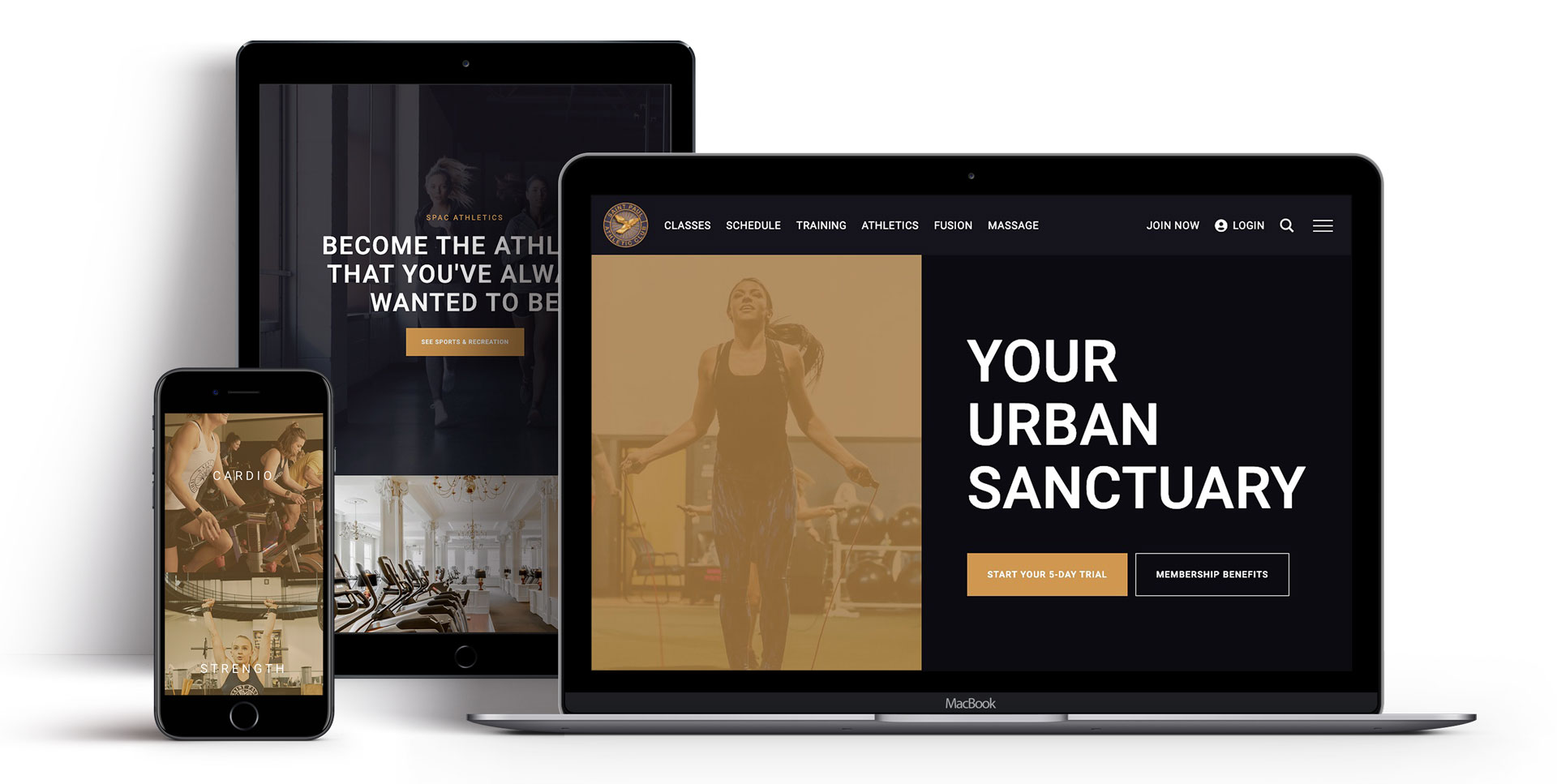 The SPAC website on all devices