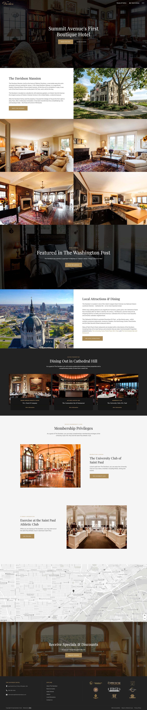 The Davidson homepage