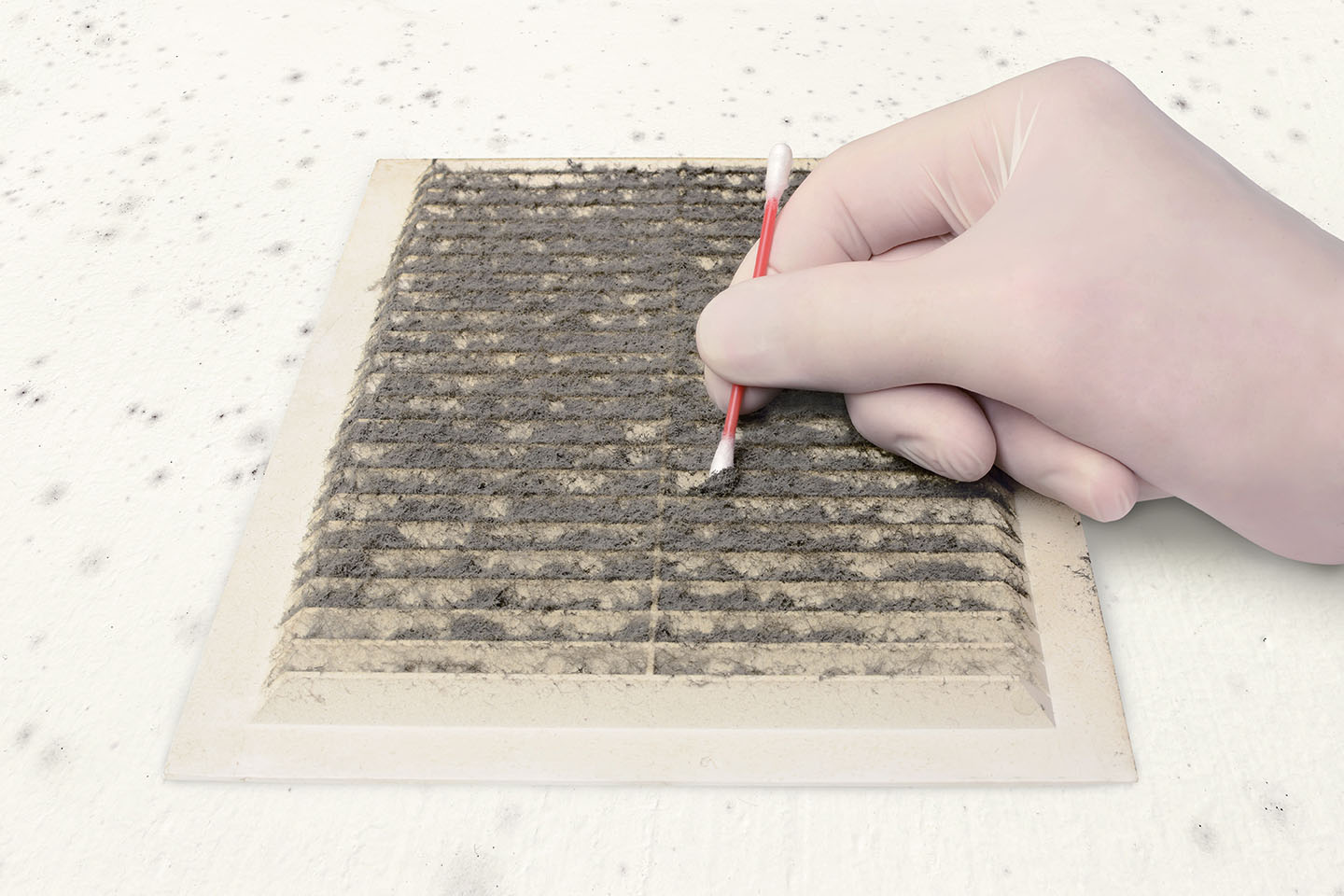 Dust testing by Precision Mold Testing