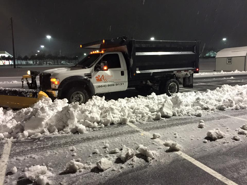Snow Removal Services In Spartanburg & Greenville, SC