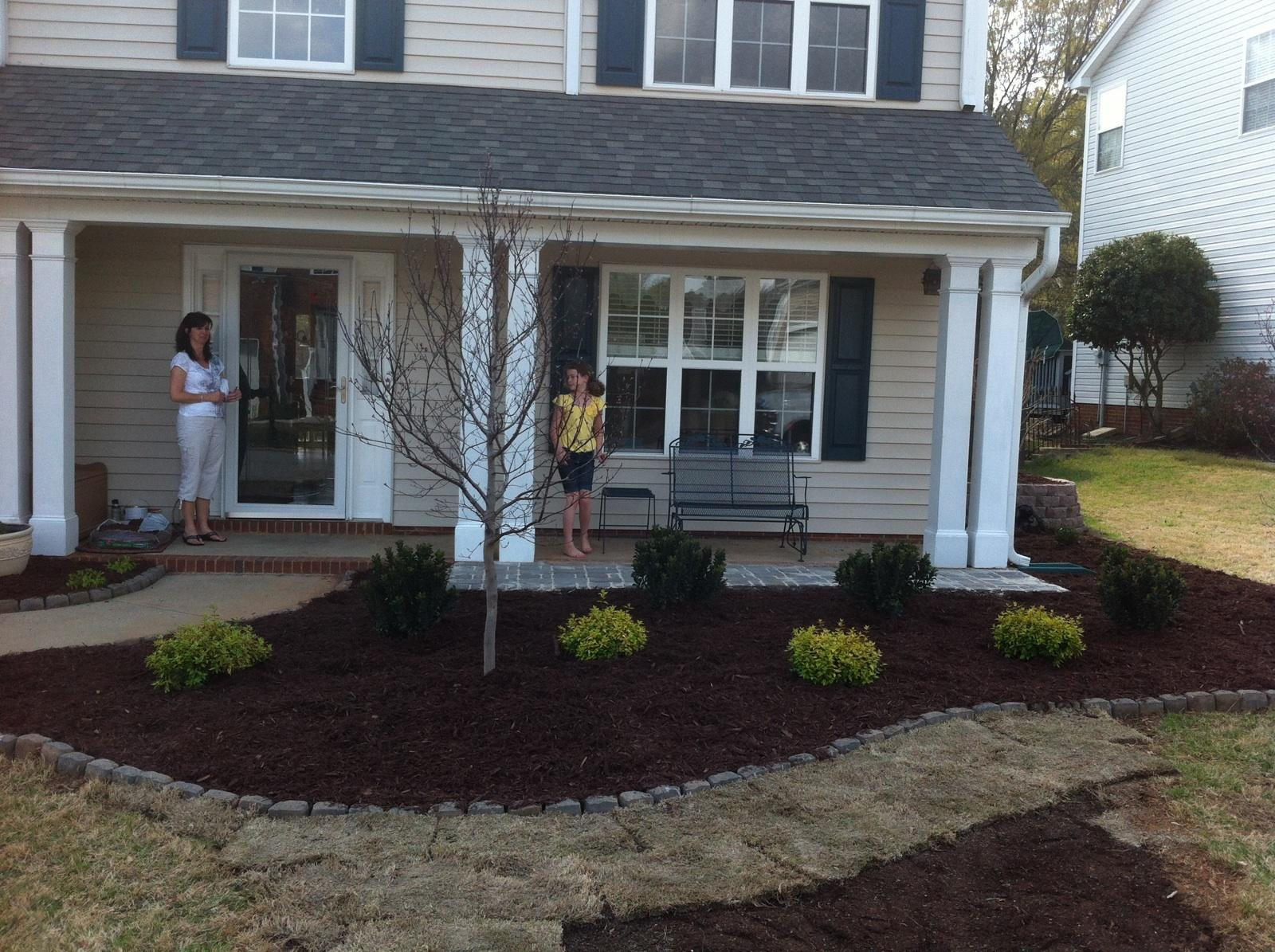 Mulch Installation Services In Spartanburg & Greenville, SC