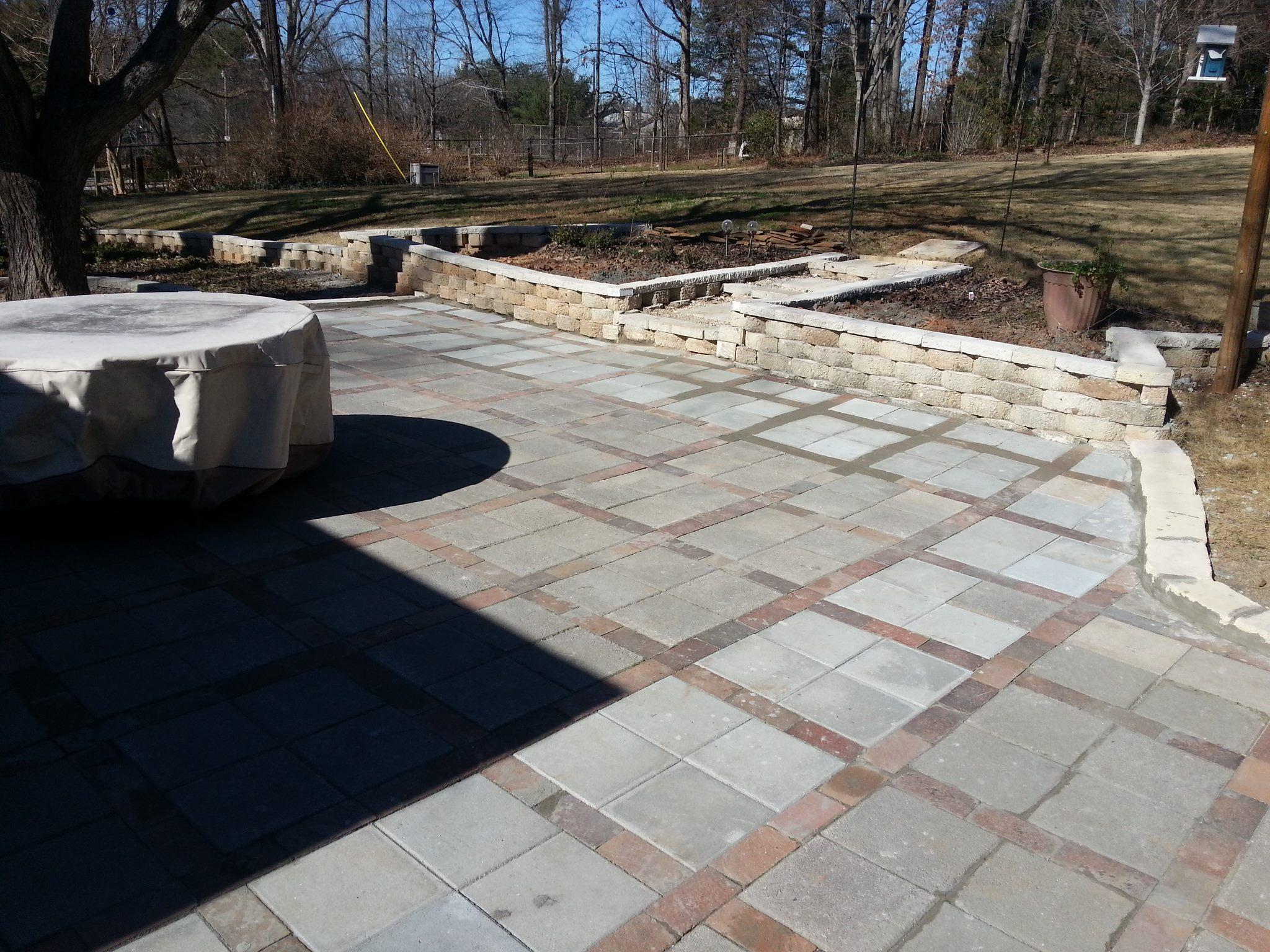 Paver Patios & Sidewalk Installation Services In Spartanburg & Greenville, SC