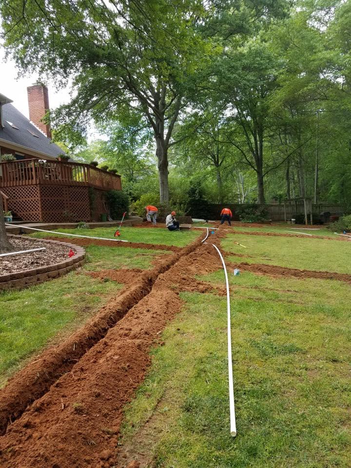 Irrigation Installation Services In Spartanburg & Greenville, SC