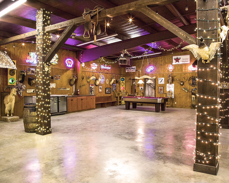 indoor shot of the saloon