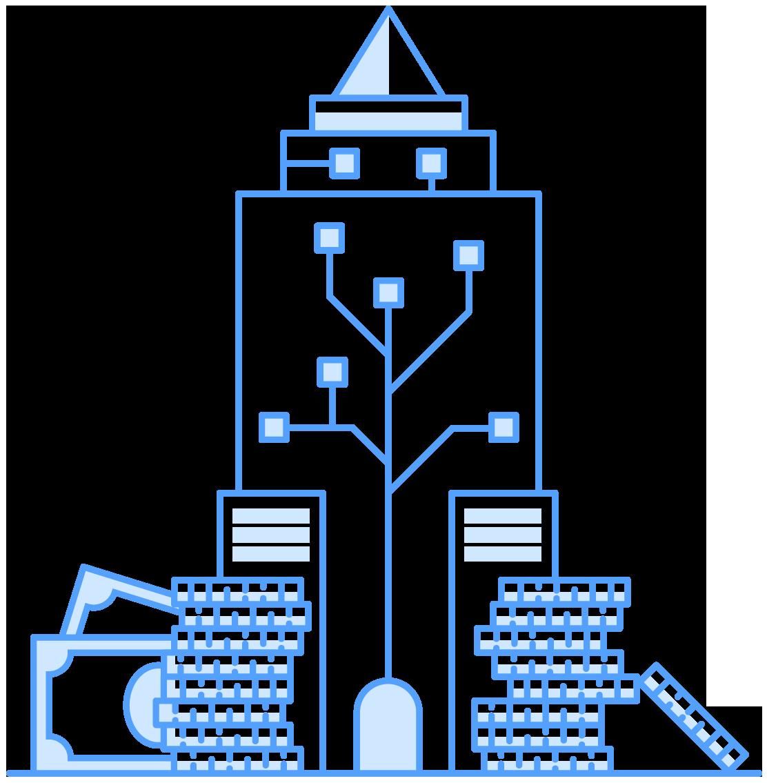 Bitcoin Skyscraper