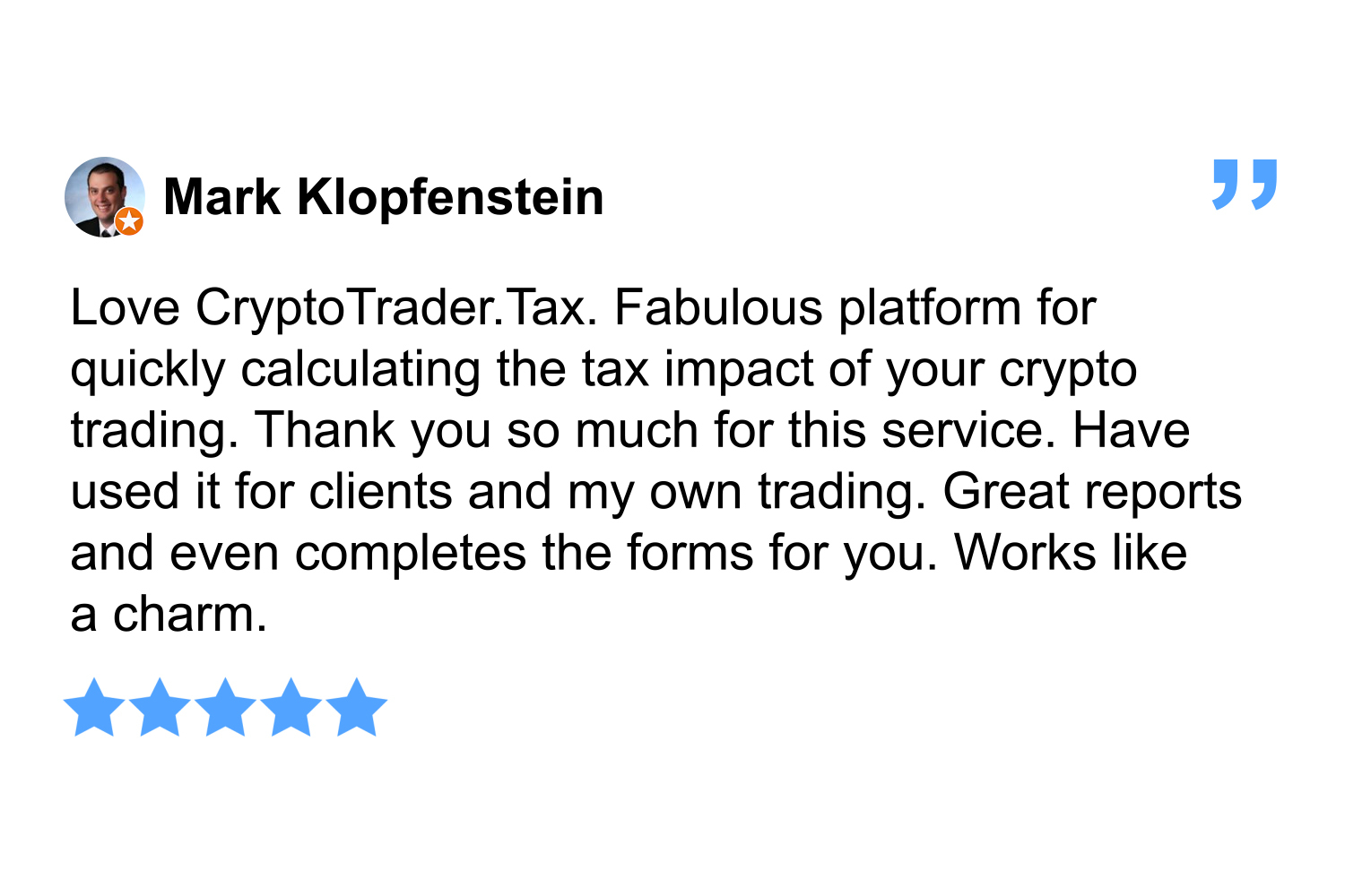 CryptoTrader.Tax Review By Mark