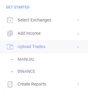 Crypto Tax Upload Trades