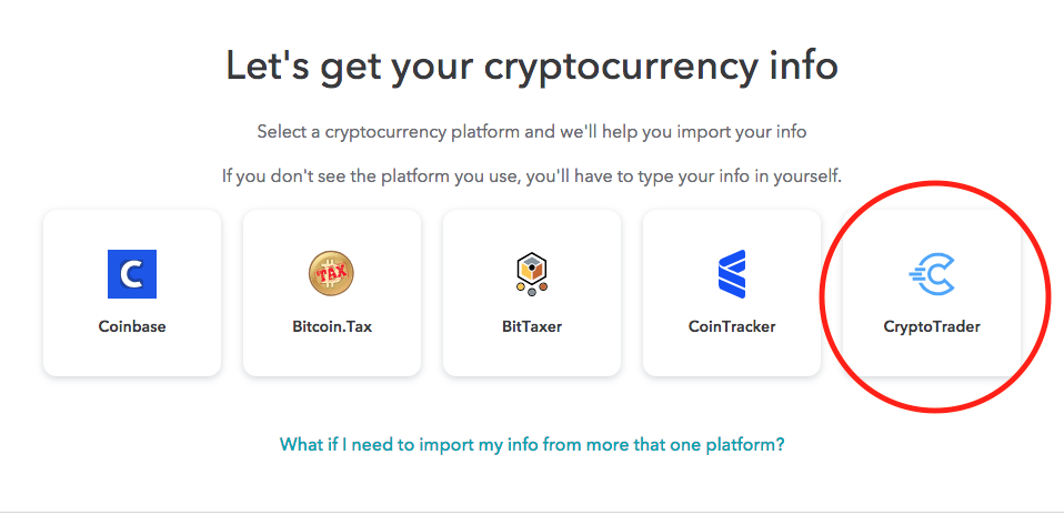 cryptocurrency taxes turbotax