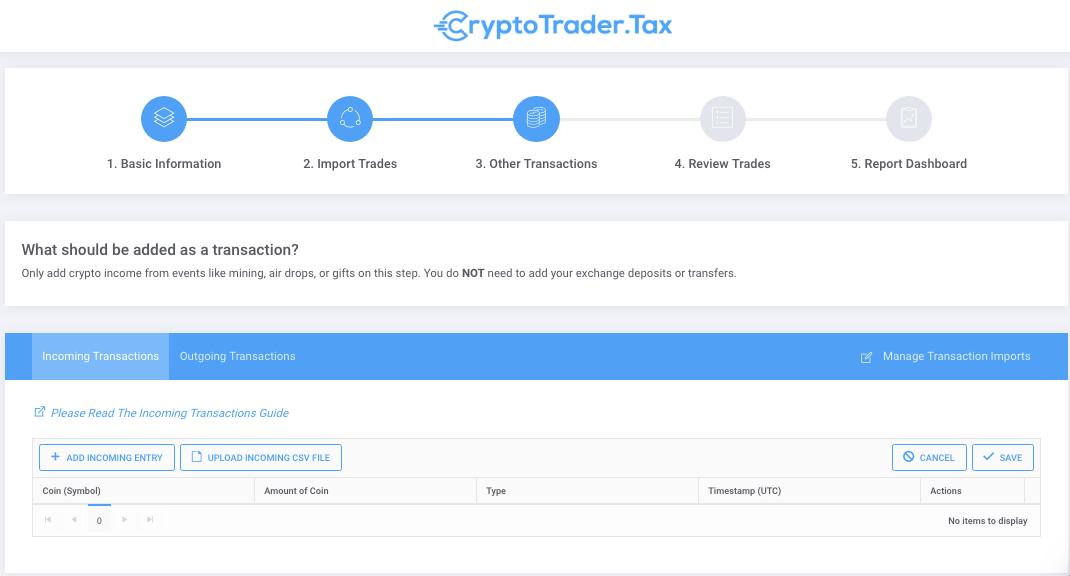 CryptoTrader Taxes
