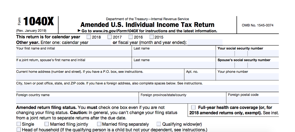 Ammend your tax return cryptocurrency