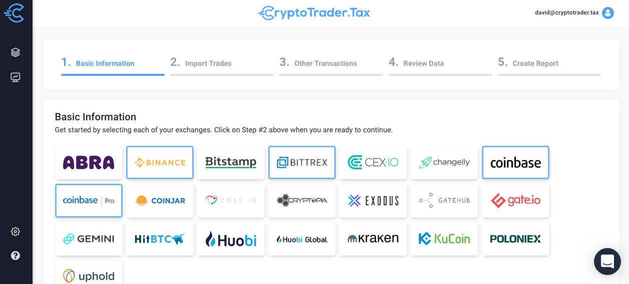 bitcoin taxes software