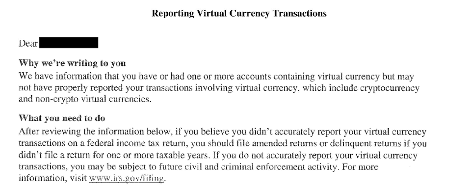how does the irs treat cryptocurrency