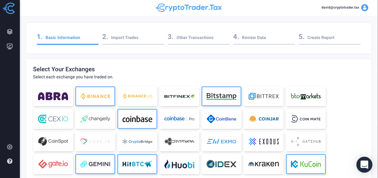 How to report cryptocurrency