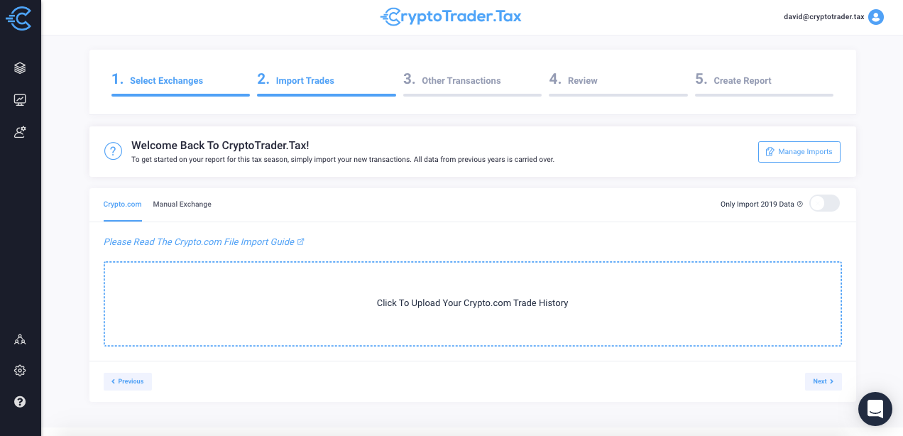 Crypto.com cryptotrader.tax