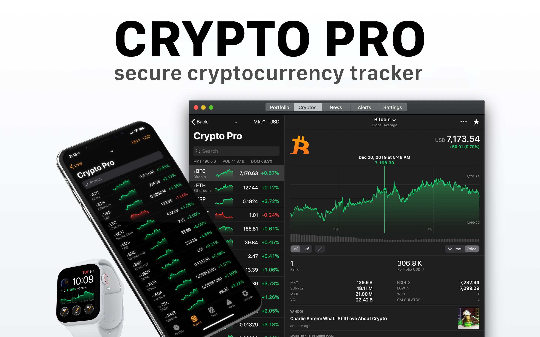 Crypto Pro Portfolio Tracker