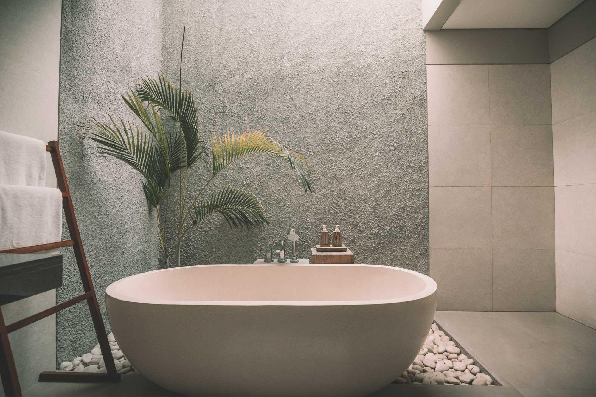 Salle de bain propre