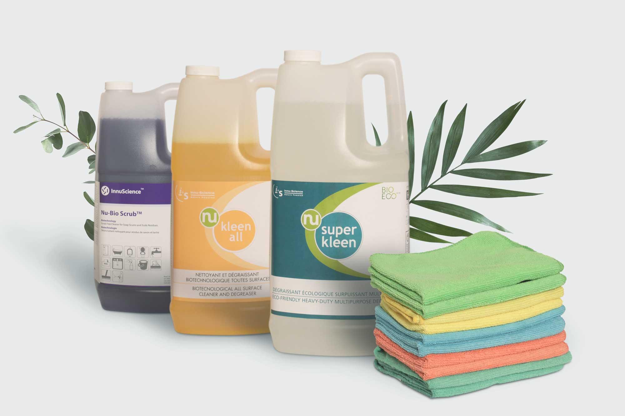 Produit nettoyant écologique