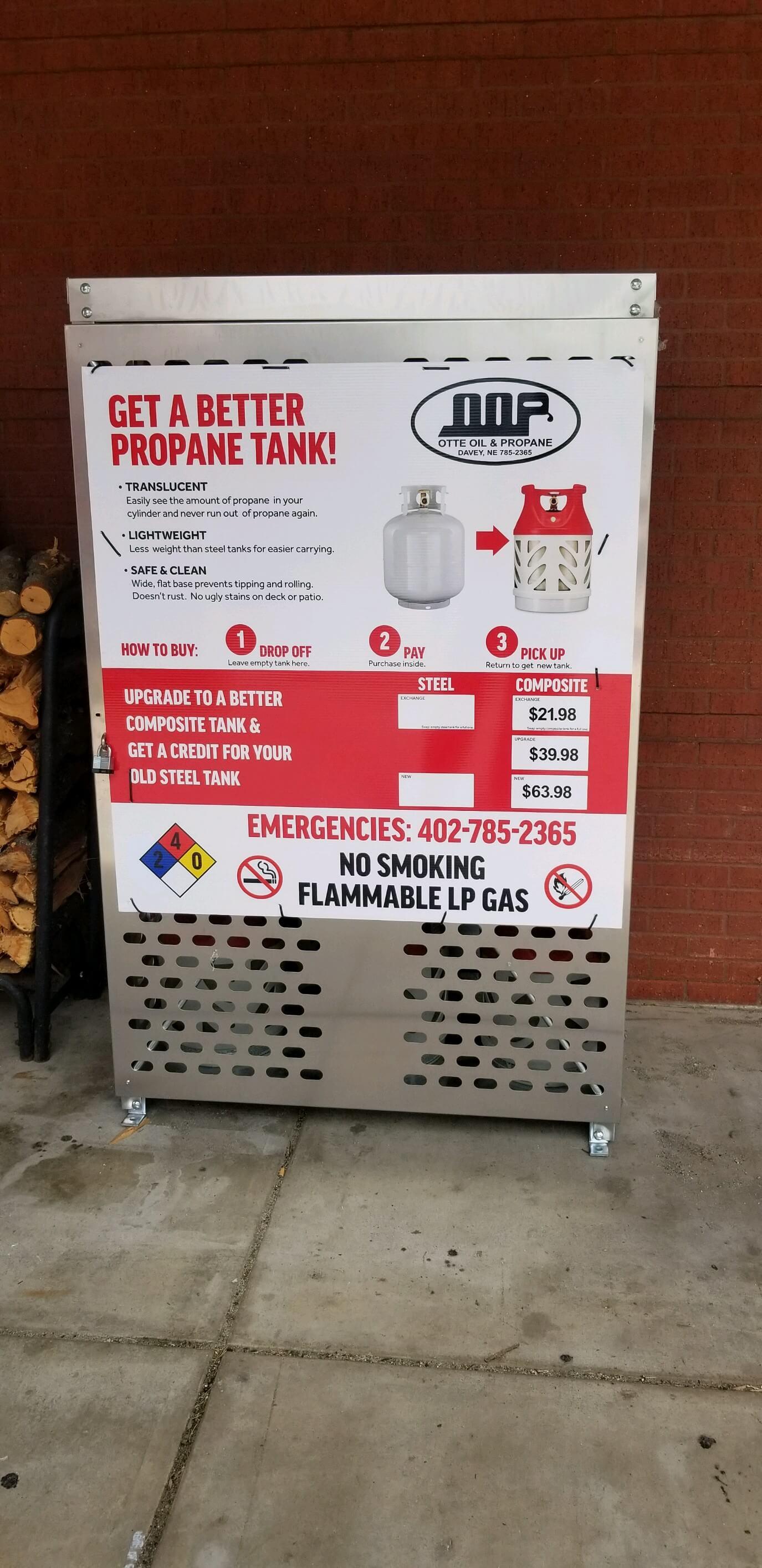 propane to go Nebraska