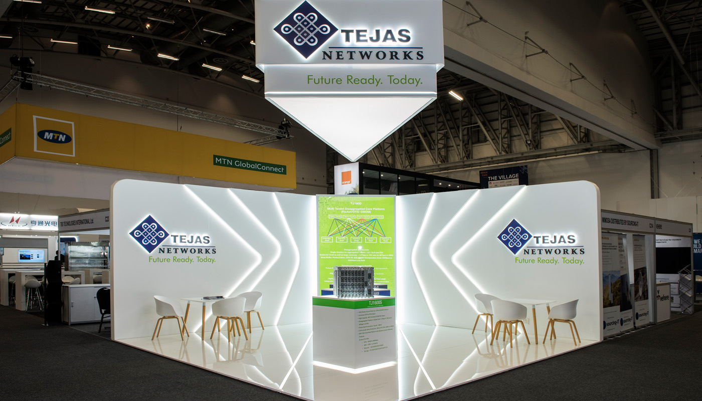 Tejas Networks Exhibition Stand Design Africom 3