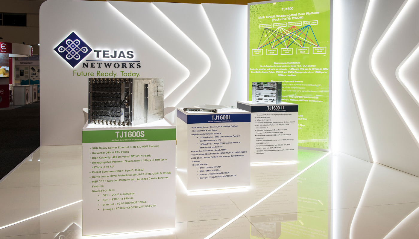 Tejas Networks Exhibition Stand Design Africom 5