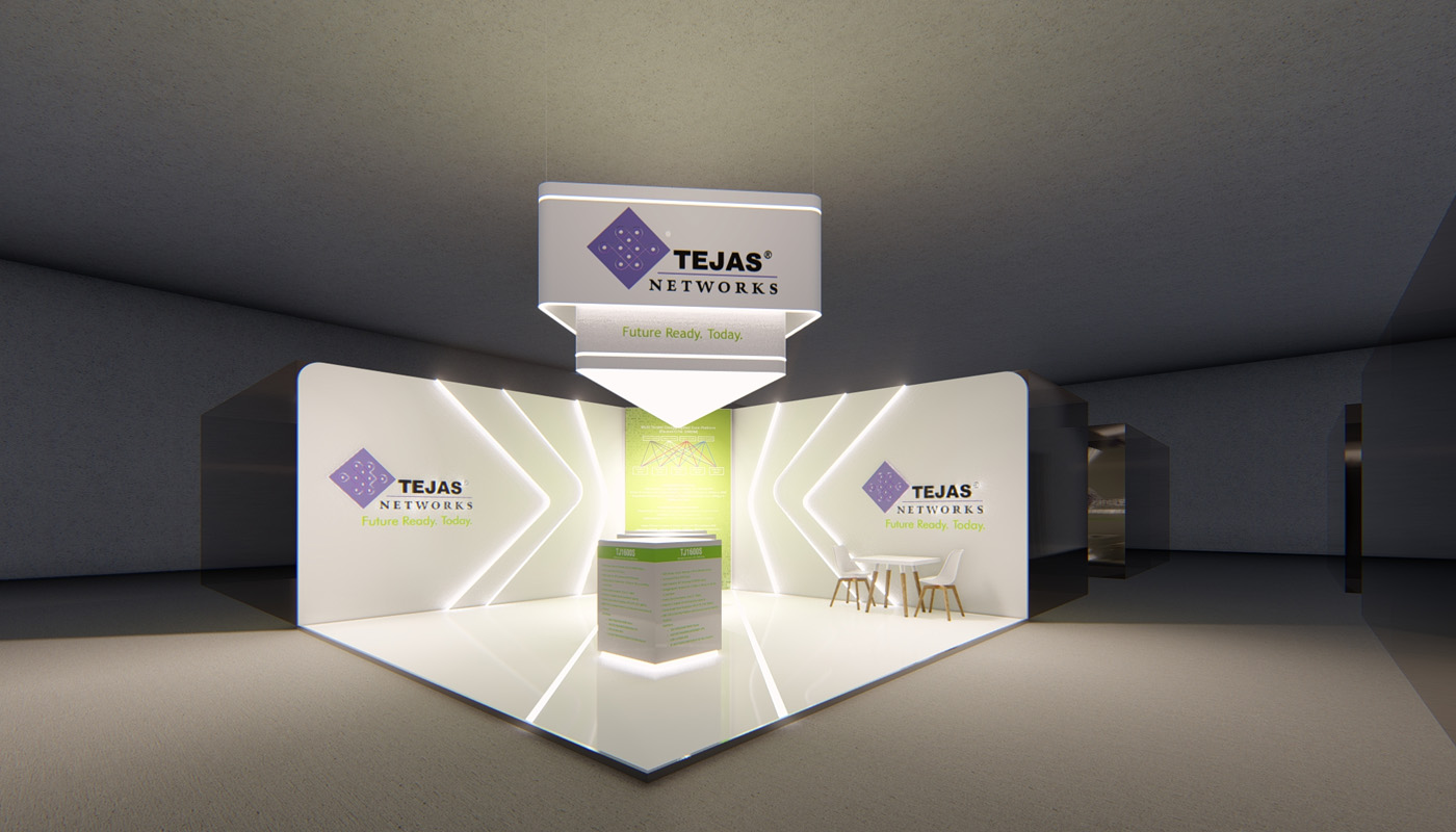 Tejas Networks Exhibition Stand Design Africom 4