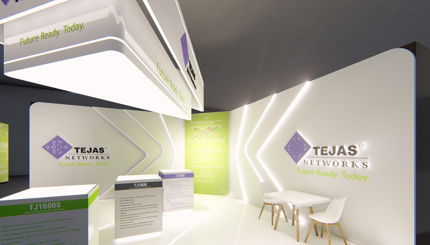 Tejas Networks Exhibition Stand Design Africom